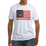 Flag of Bennington III.psd Fitted T-Shirt