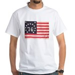 Flag of Bennington III.psd White T-Shirt