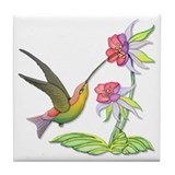 Hummingbird Flight Tile Coaster