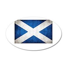 Scotland 35x21 Oval Wall Decal