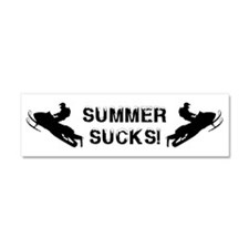 Summer Sucks Car Magnet 10 x 3