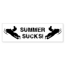 Summer Sucks Bumper Sticker