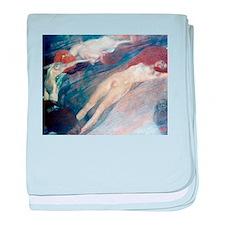 Klimt - Moving Water baby blanket