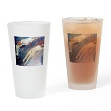 Klimt - Moving Water Drinking Glass