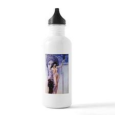 Klimt - Allegory of Sculpture Water Bottle