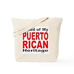 Proud Puerto Rican Heritage Tote Bag