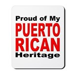 Proud Puerto Rican Heritage Mousepad