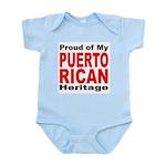 Proud Puerto Rican Heritage Infant Creeper