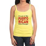 Proud Puerto Rican Heritage Jr. Spaghetti Tank