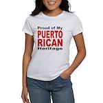 Proud Puerto Rican Heritage Women's T-Shirt
