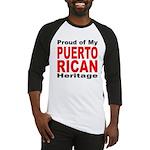 Proud Puerto Rican Heritage Baseball Jersey
