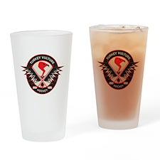 TV Logo Drinking Glass