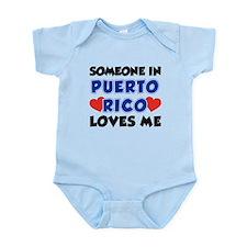 Someone In Puerto Rico Loves Me Infant Bodysuit