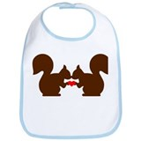 Squirrel love Bib