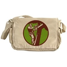 Arborist Tree Surgeon Trimmer Pruner Messenger Bag