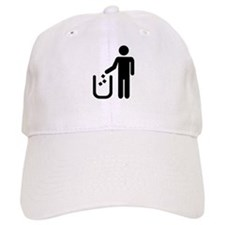 Litter waste garbage Baseball Cap
