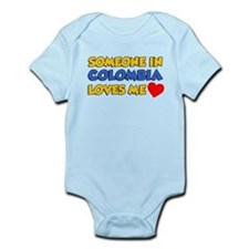 Someone Colombia Loves Me Infant Bodysuit