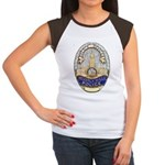 Beverly Hills Police Women's Cap Sleeve T-Shirt