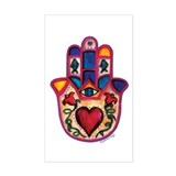 Heart Hamsa Decal
