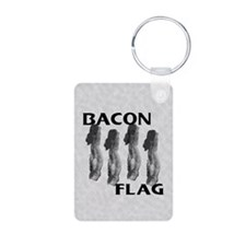 Bacon Flag Keychains