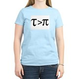 Tau Greater than Pi T-Shirt