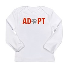 Adopt Long Sleeve Infant T-Shirt