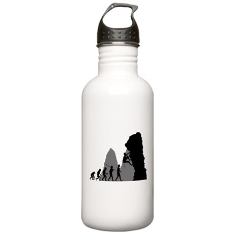 Rock Climbing Stainless Water Bottle 1.0L