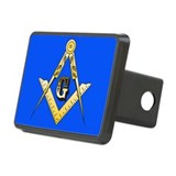 Masonic Rectangular Trailer Hitch Cover