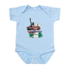 USA - Naija: Infant Bodysuit