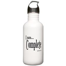 I am Complete Ephesians 2:10 Water Bottle