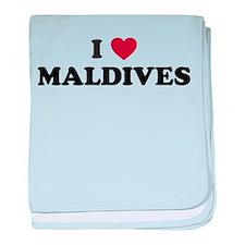 I love Maldives baby blanket
