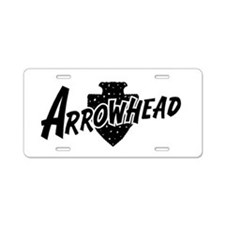 Arrowhead Aluminum License Plate