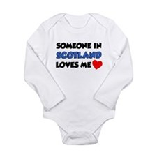 Someone In Scotland Loves Me Long Sleeve Infant Bo