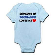 Someone In Scotland Loves Me Infant Bodysuit