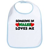 Someone In Wales Loves Me Bib