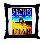 Arches National Park, Utah Throw Pillow