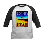 Arches National Park, Utah Kids Baseball Jersey
