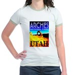 Arches National Park, Utah Jr. Ringer T-Shirt