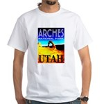 Arches National Park, Utah White T-Shirt