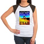 Arches National Park, Utah Women's Cap Sleeve T-Sh
