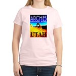 Arches National Park, Utah Women's Pink T-Shirt
