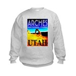 Arches National Park, Utah Kids Sweatshirt
