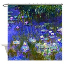Monet - Water Lilies 1922 Shower Curtain