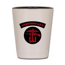 Commando S.B.S. Shot Glass