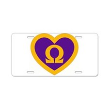 Q Sweet Aluminum License Plate