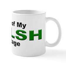 Proud Welsh Heritage Mug