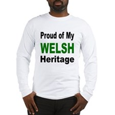 Proud Welsh Heritage Long Sleeve T-Shirt