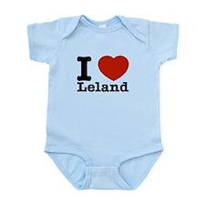 I Love Leland Infant Bodysuit