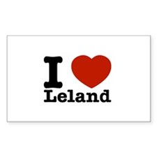 I Love Leland Decal