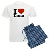 I Love Lena pajamas